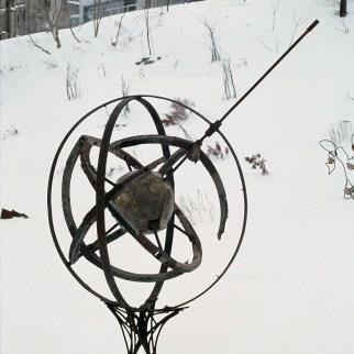 Sculpture Îlot Fleurie Circa 1991-1996 Louis Fortier, Collection personnelle.