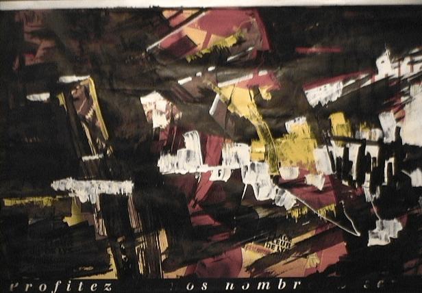 Coutumes - 1997 Médiums mixtes 91cm X 120cm Louis Fortier