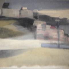 Tempête - 1979 Acrylique sur carton 31cm X 23cm Louis Fortier PRIX : 75$