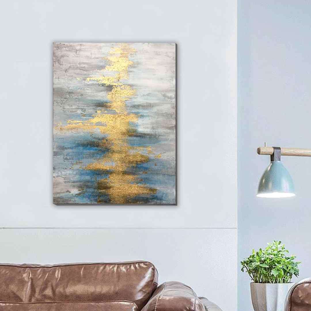 River of Gold Painting