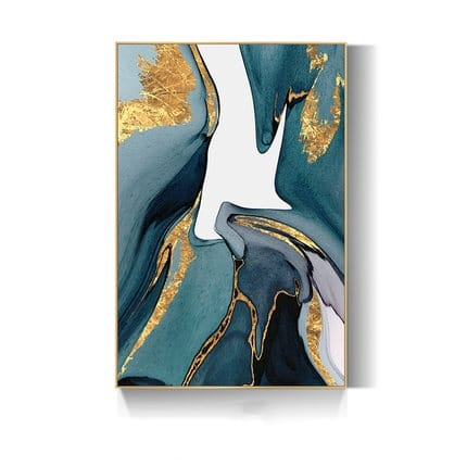 """""""Stroke of Gold"""" Canvas Set"""