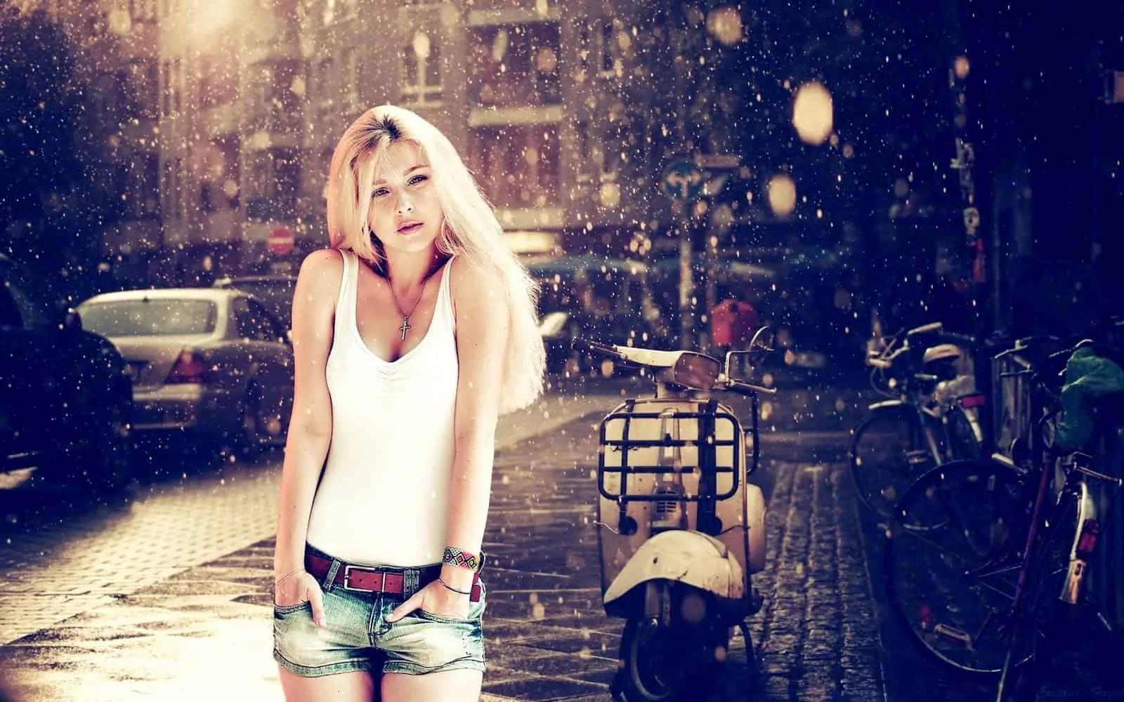 2014-01-Women-Short-Jeans-Fashion-Style-Wallpaper 5