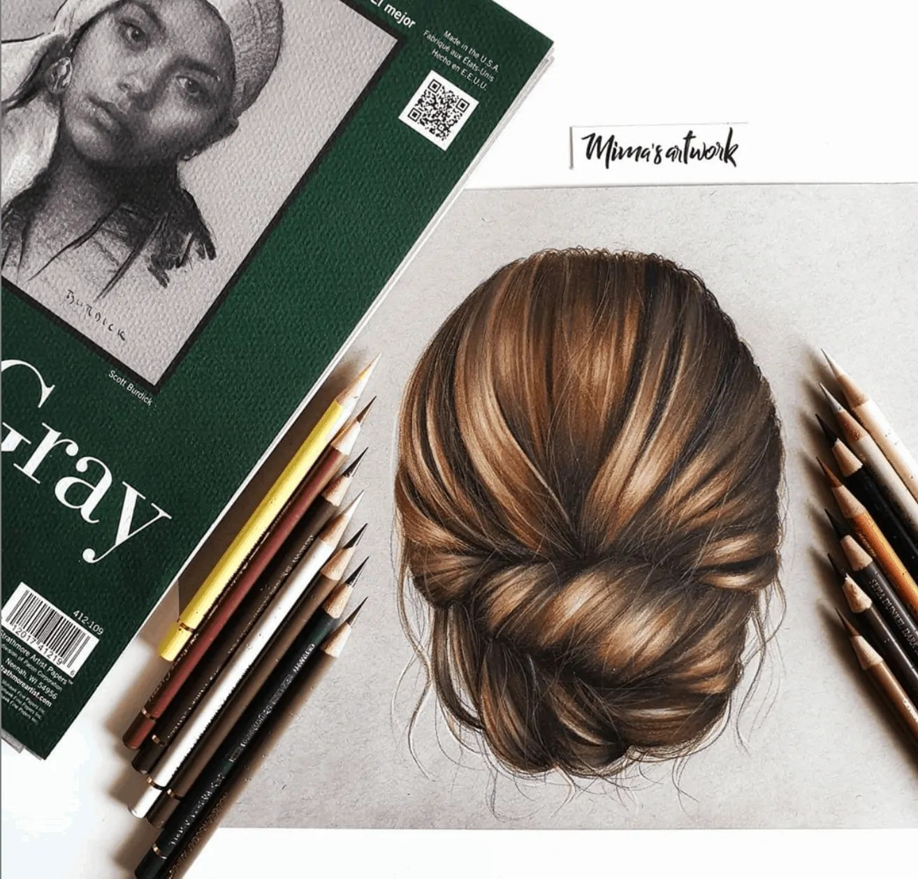 How to Draw Realistic Hair in Pencil 4