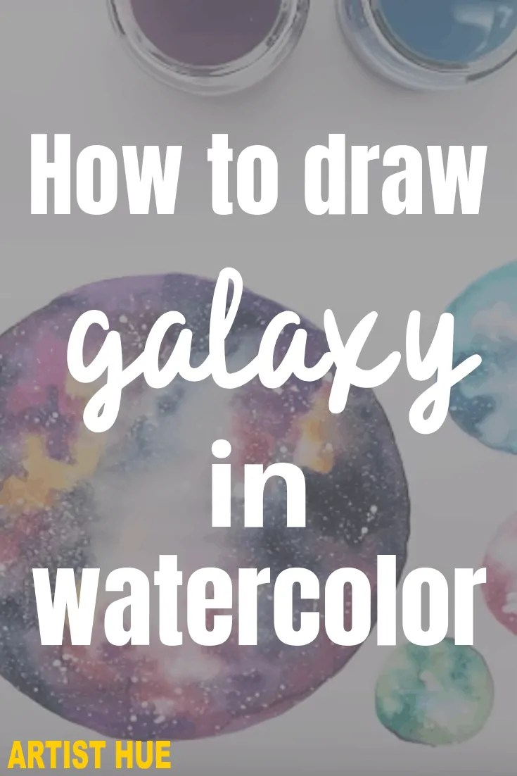 how to draw galaxy in watercolor 5