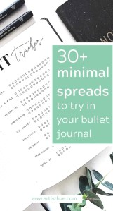 30 Minimalistic Spread Ideas