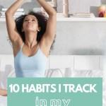 Habit Tracker Bullet Journal Ideas 7