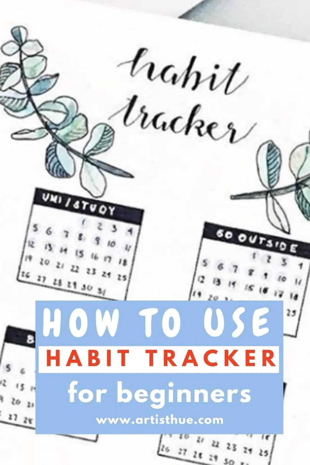 Habit Tracker Bullet Journal Ideas 5