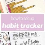 Habit Tracker Bullet Journal Ideas 1