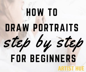 How to draw portraits step by step for beginners 5