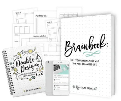 How to set up Bullet Journal - Honest Review of Brainbook 40