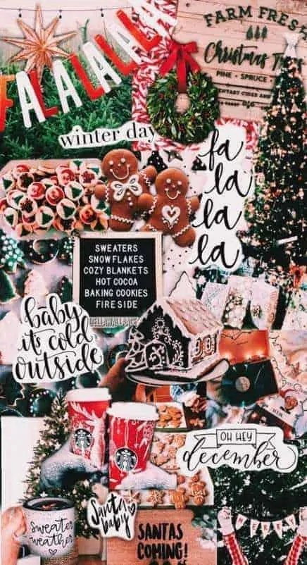 Super Christmas Wallpaper Aesthetic Collage Ideas 5