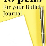 best bullet journal pens