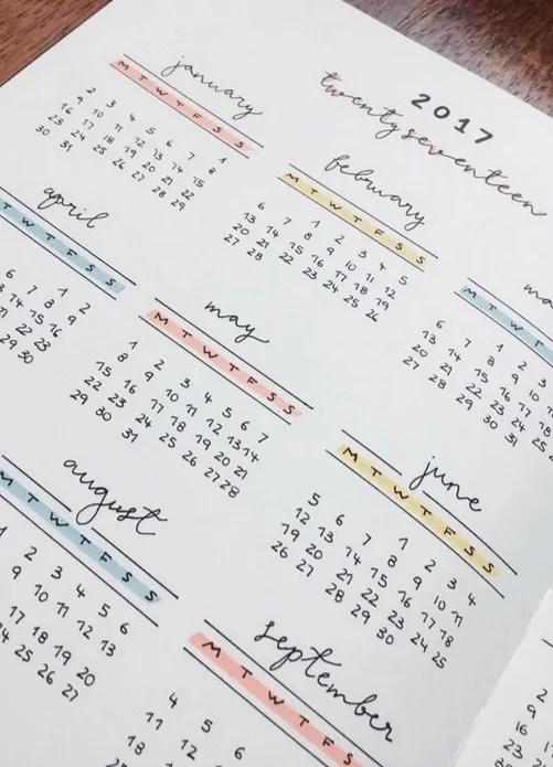 Bullet Journal Future Log - Setup Guide & Usage Ideas 5
