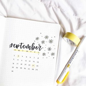Bullet Journal Monthly Set Up