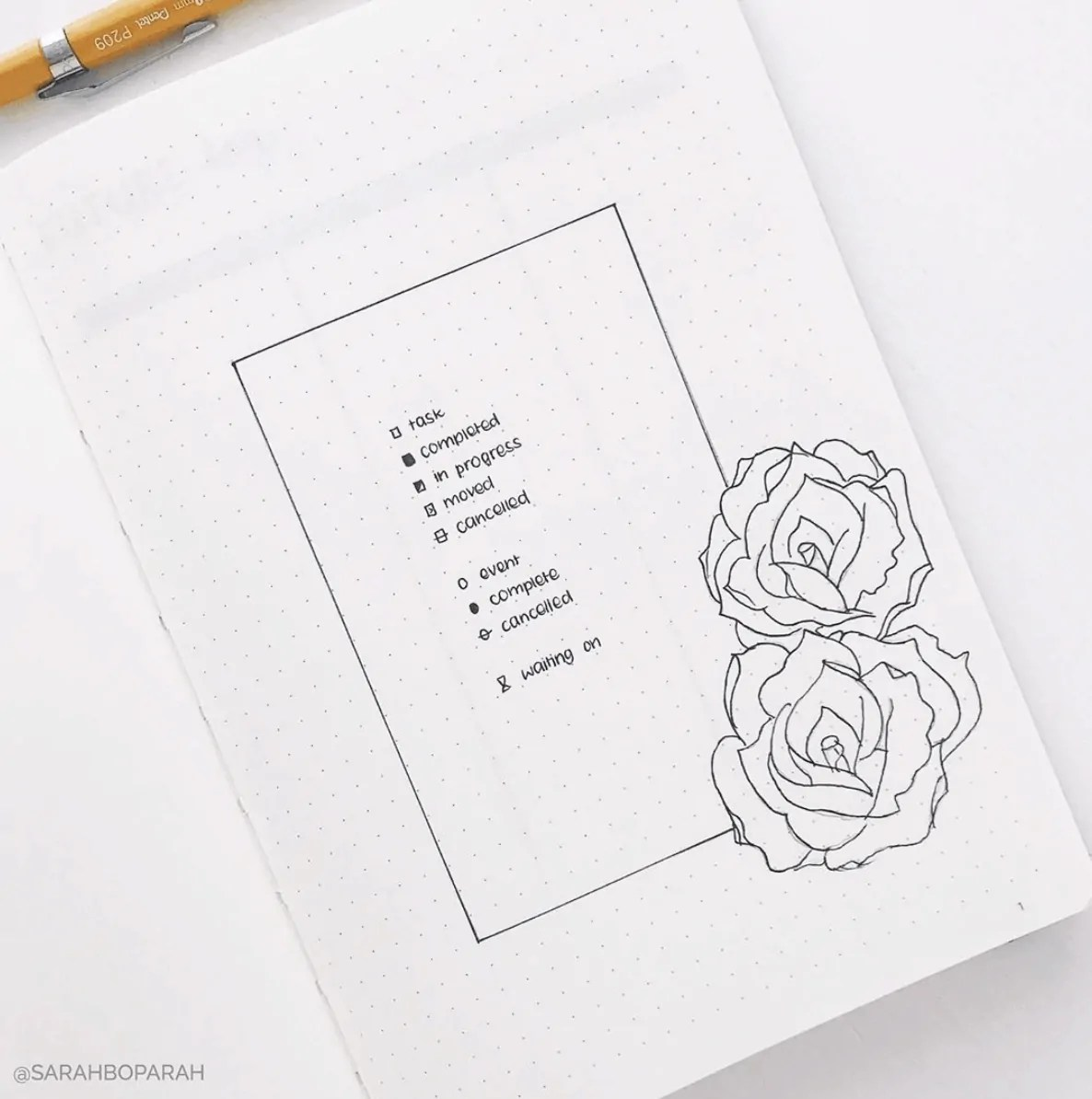 Bullet Journal Key: How to set it up + Ideas 20