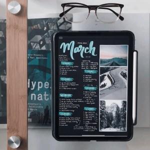 digital bullet journal