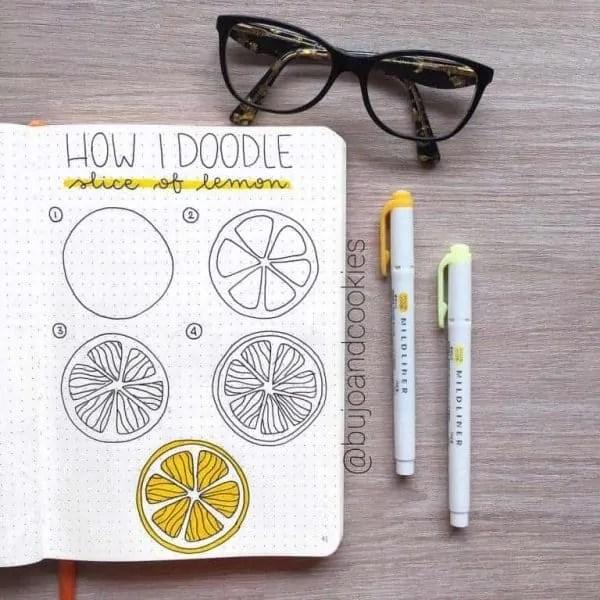 How to Doodle Lemon