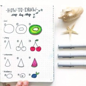 How to Draw Fruits?