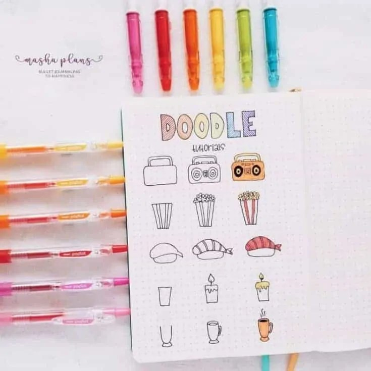 How to Doodle Objects?