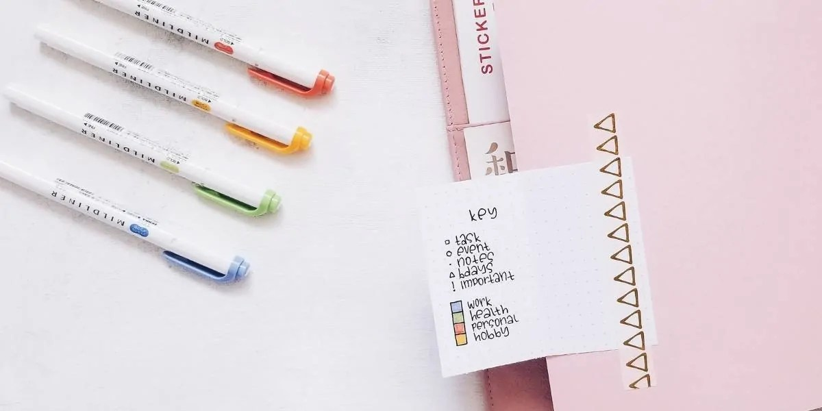Bullet Journal Key: How to set it up + Ideas 2