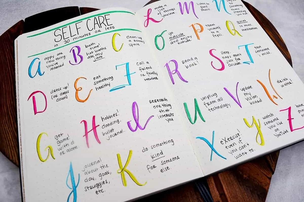 Bullet Journal for Mental Health 8