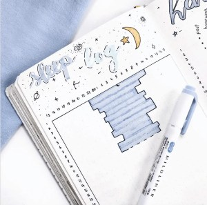 Sleep Log Bullet Journal Ideas