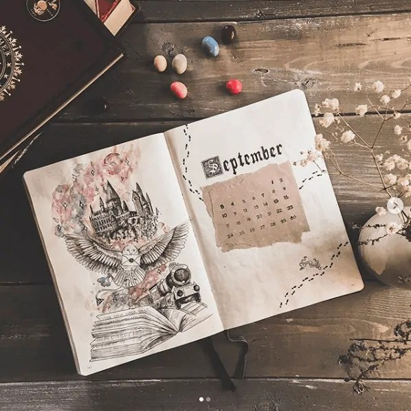 30 Creative Bullet Journal Monthly Spread Ideas 18