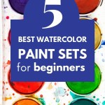 watercolor paint sets for beginnners