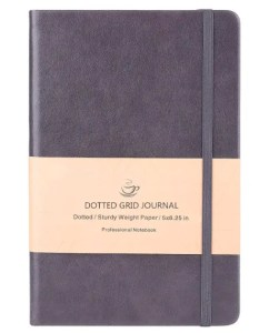 Dotted Grid Notebook Journal