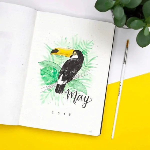 Bullet Journal May Ideas 45
