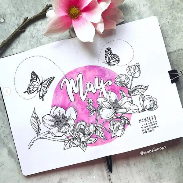 Bullet Journal May Ideas 37