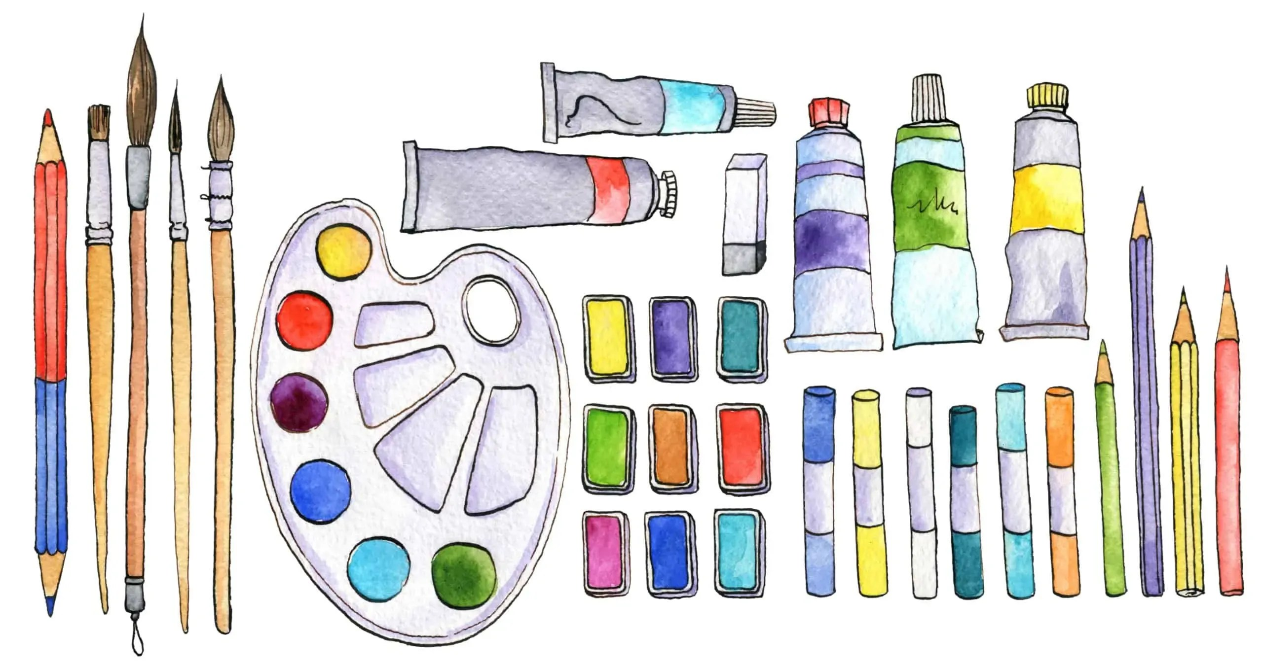 10 Ideas for Your Next Watercolor Painting 48