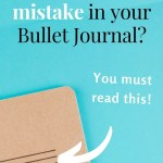 5 Ways to Fix Mistakes in Bullet Journal 11