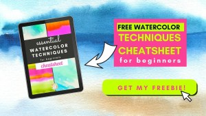 watercolor techniques free guide