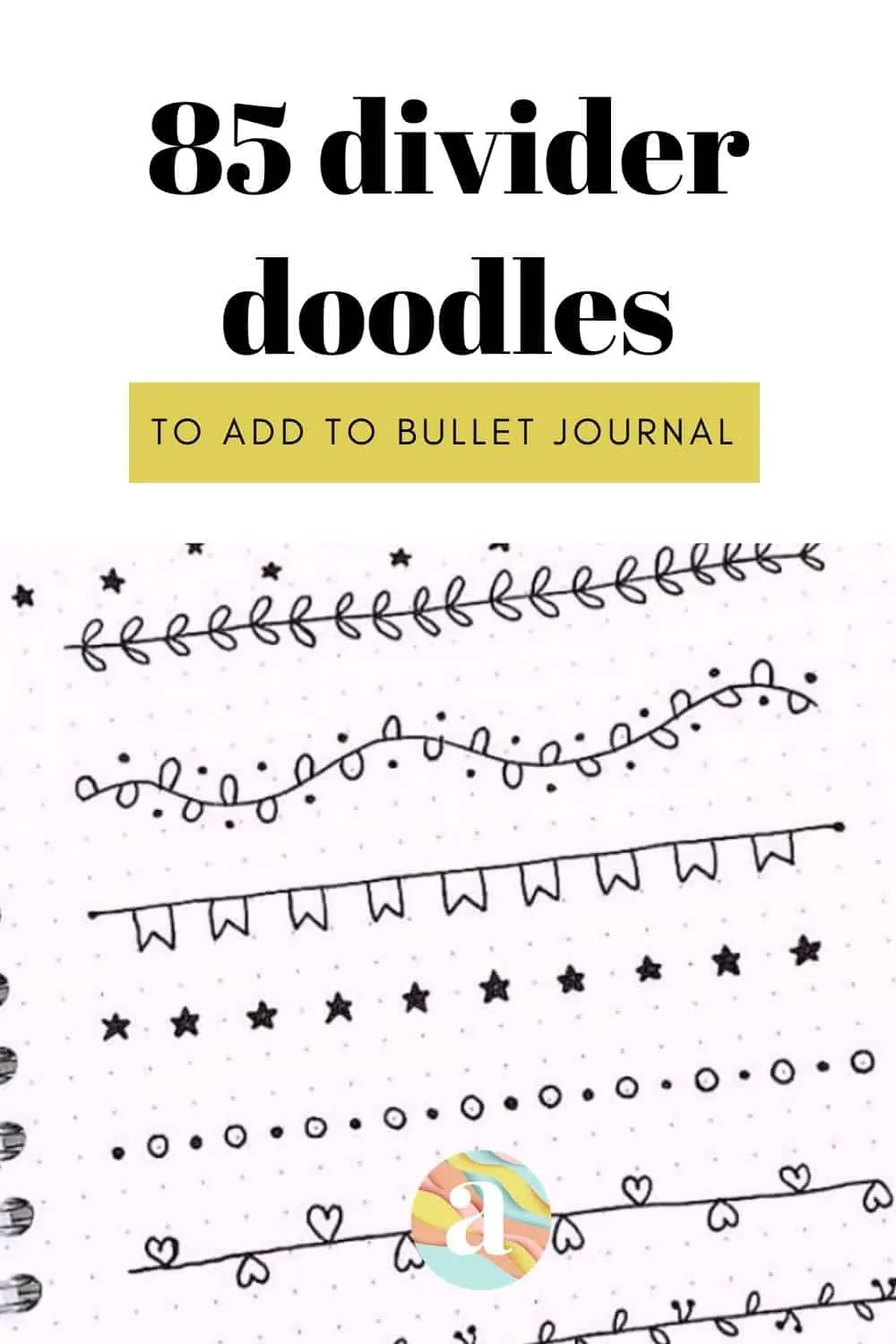 85 Bullet Journal Divider Ideas for 2020 11