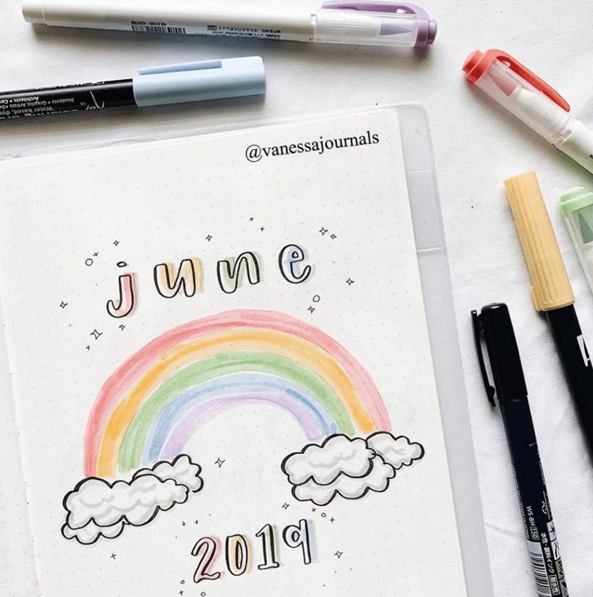 Bullet Journal June: Ideas and Inspiration 30