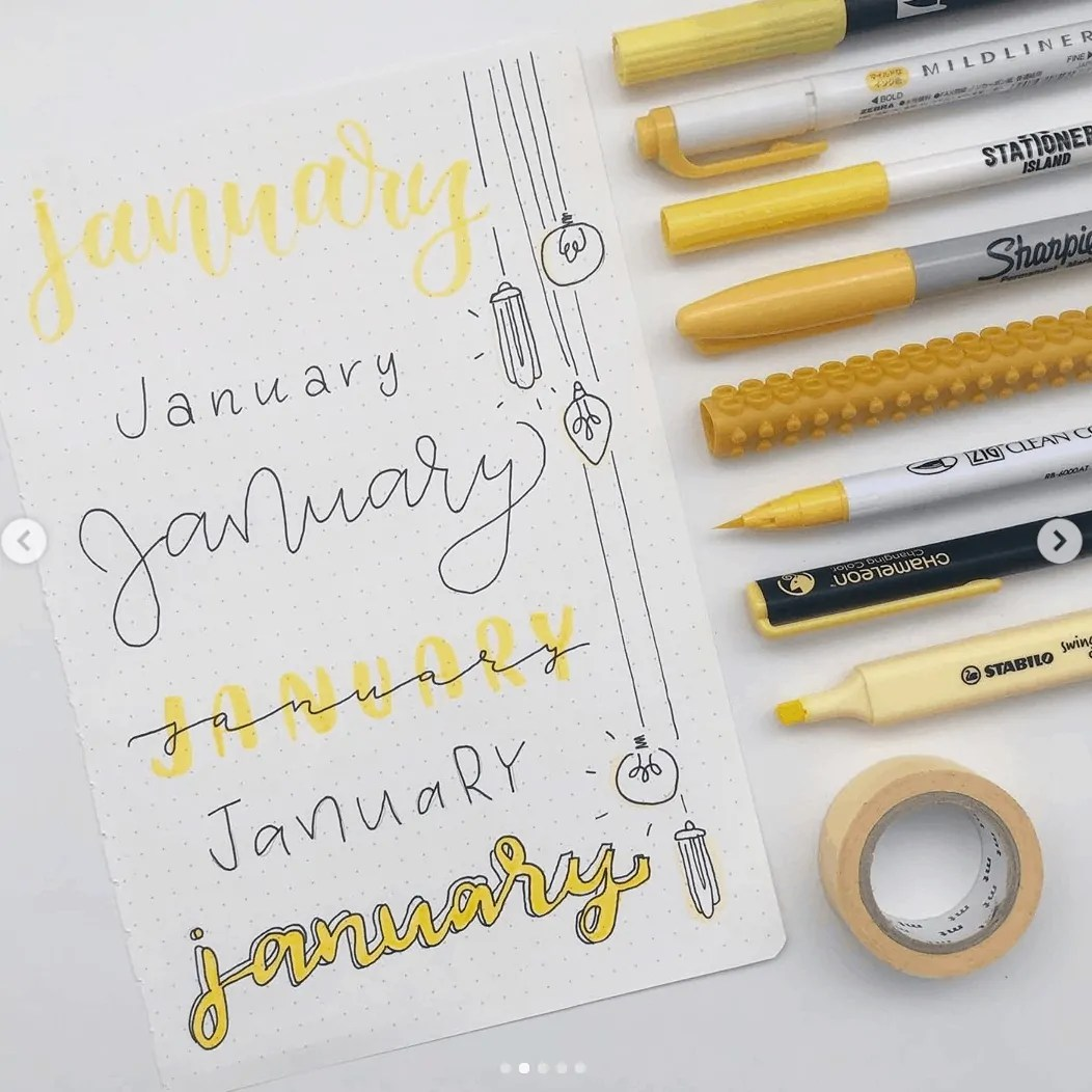 January title ideas
