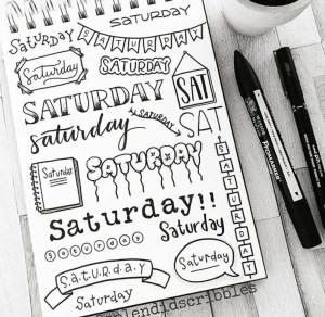 Saturday header ideas