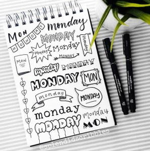 Monday header ideas