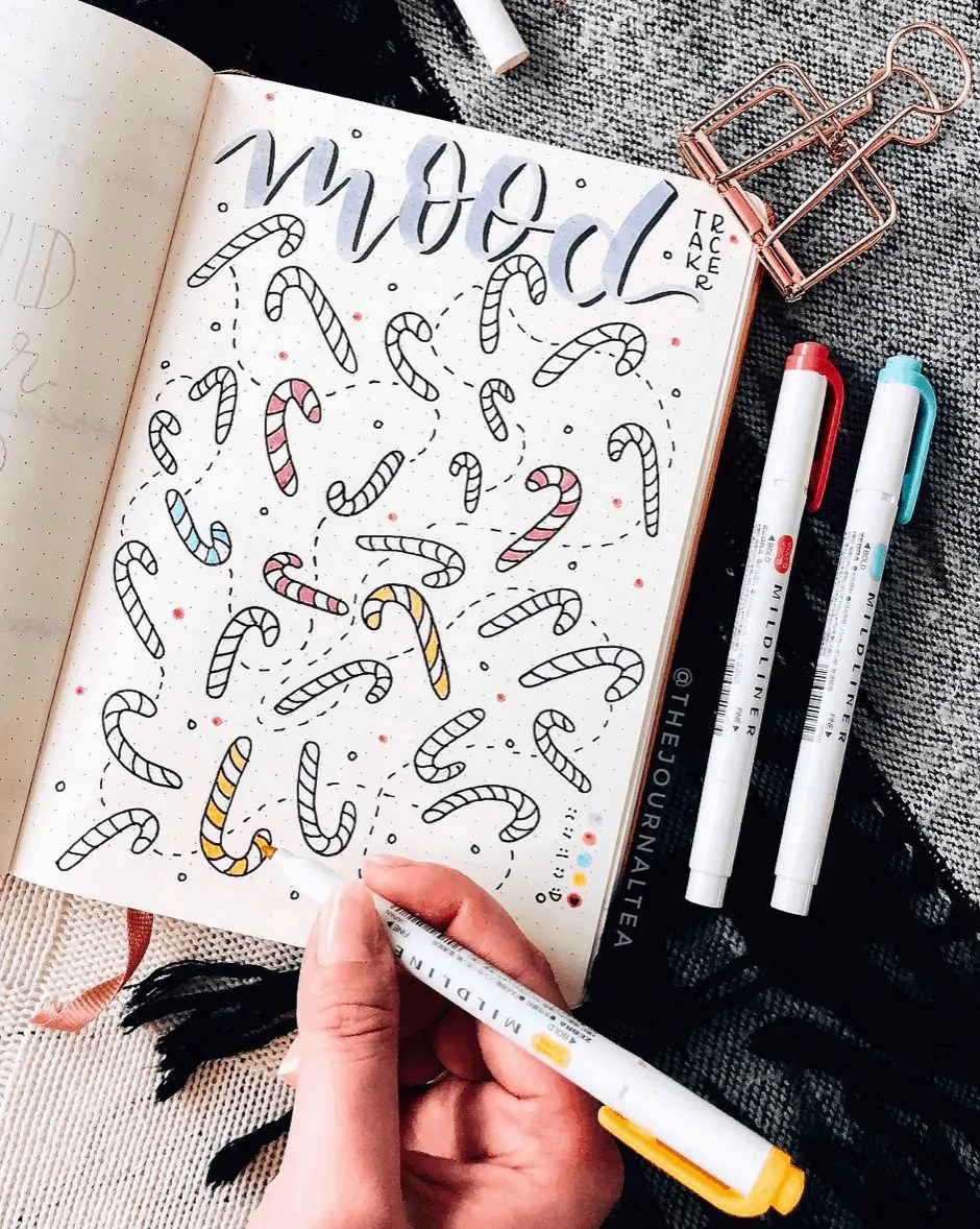 mood tracker inspiration
