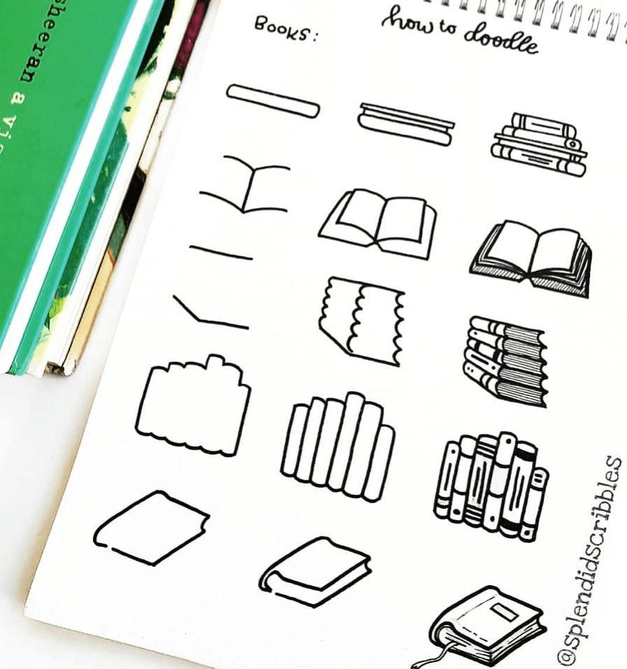how to Doodle Books