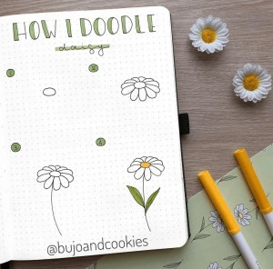 how I doodle daisy