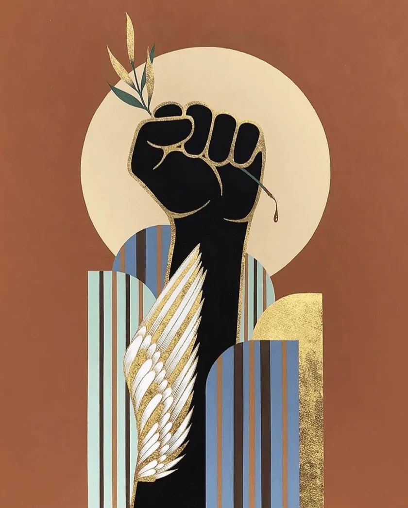black lives matter art
