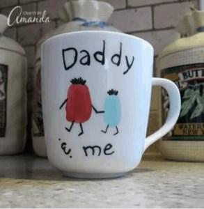 daddy and me mug