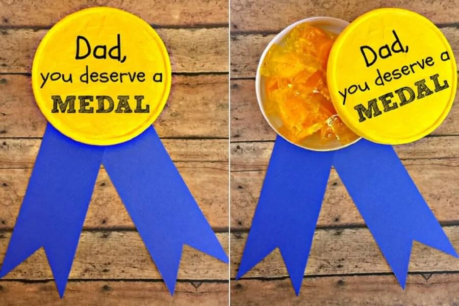 best dad deserves a medal