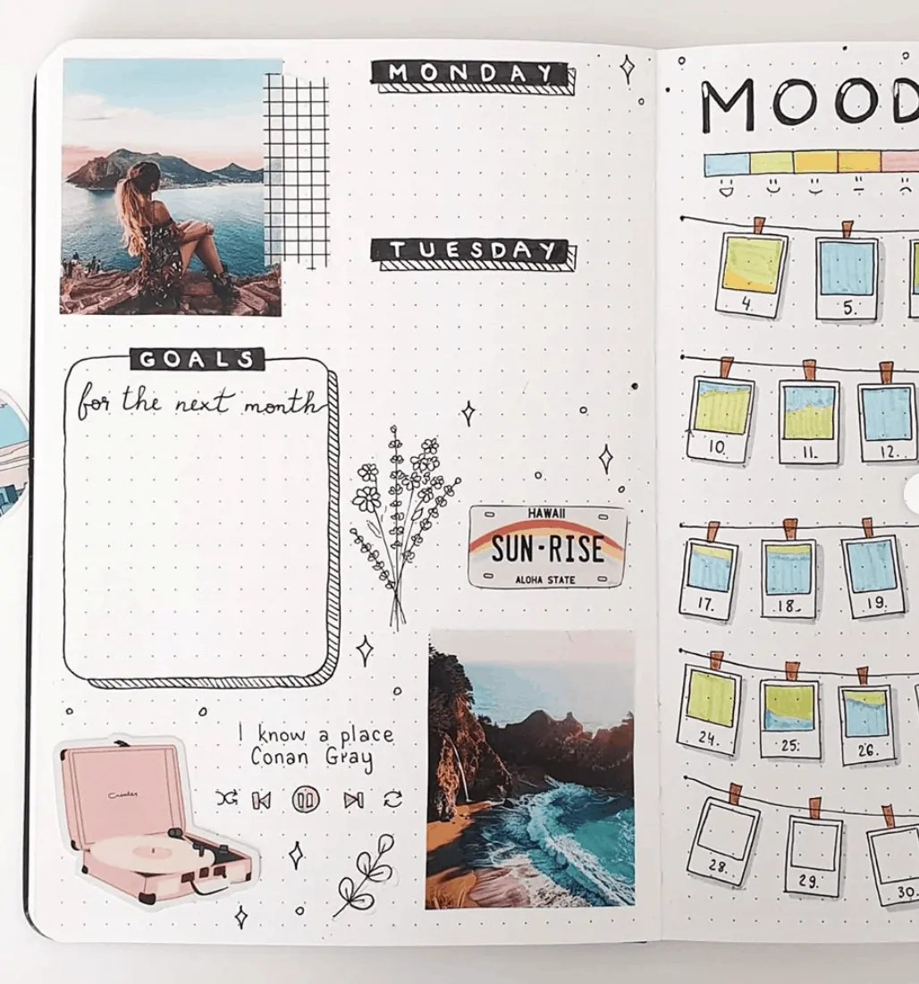 JUNE BULLET JOURNAL