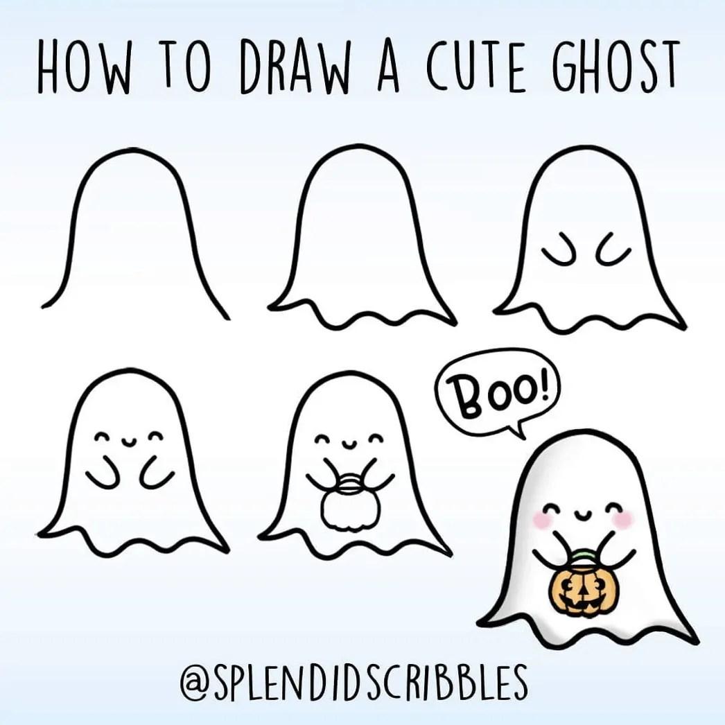 100 Bullet Journal Fall Doodles Halloween Ideas 13