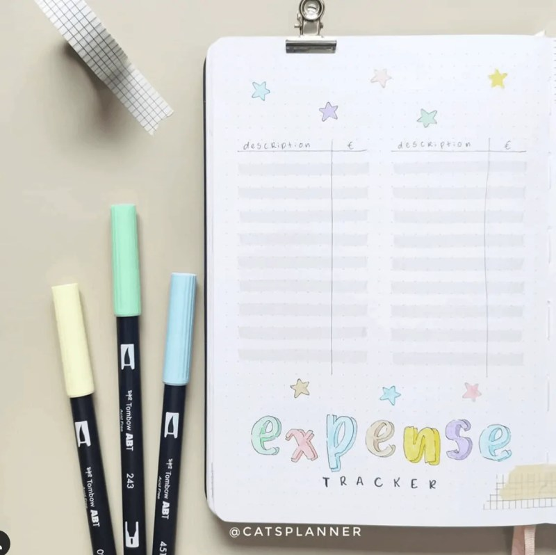 September Bullet Journal Page Ideas