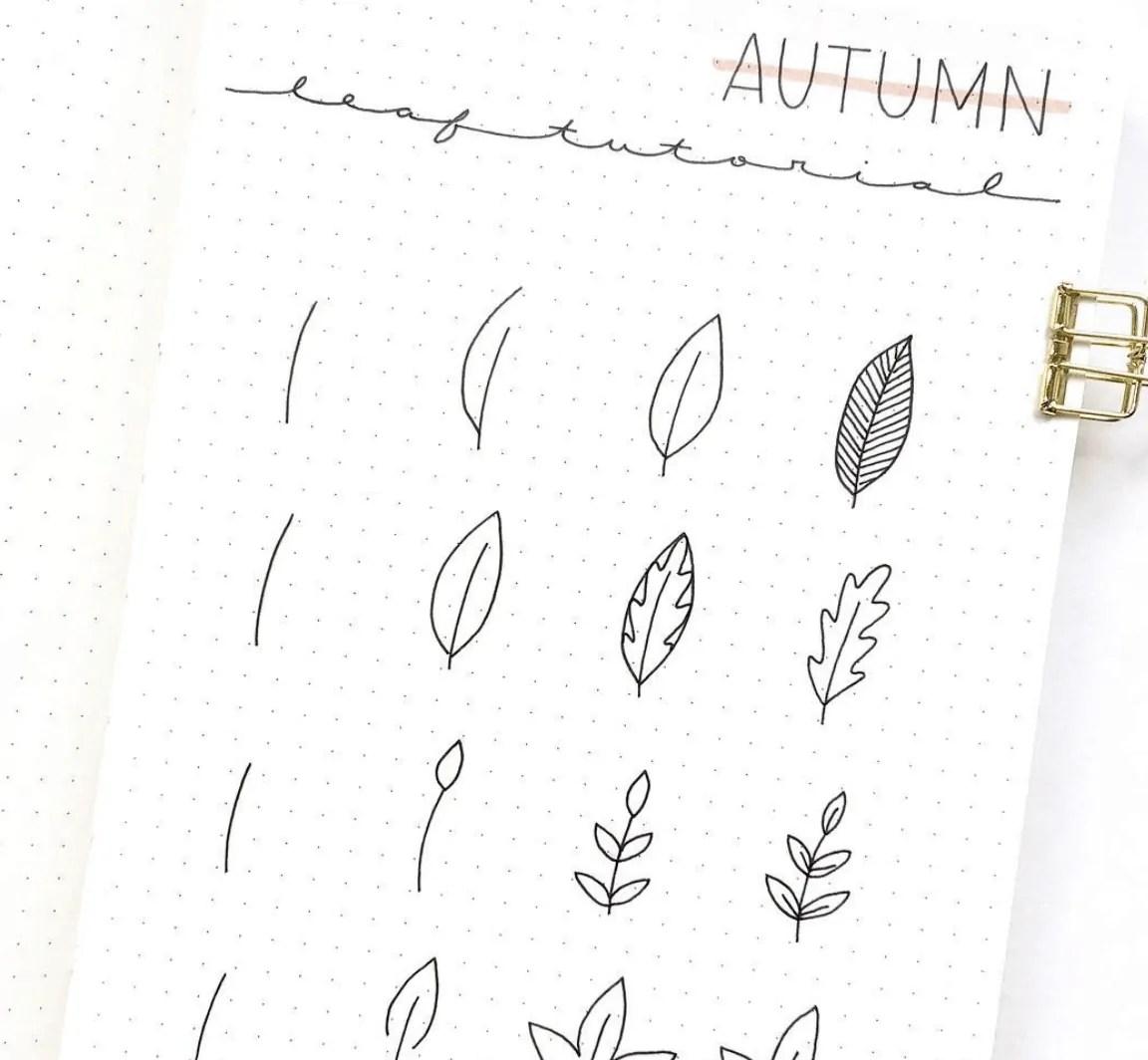 50+ Stunning September Bullet Journal Ideas you must see! 143