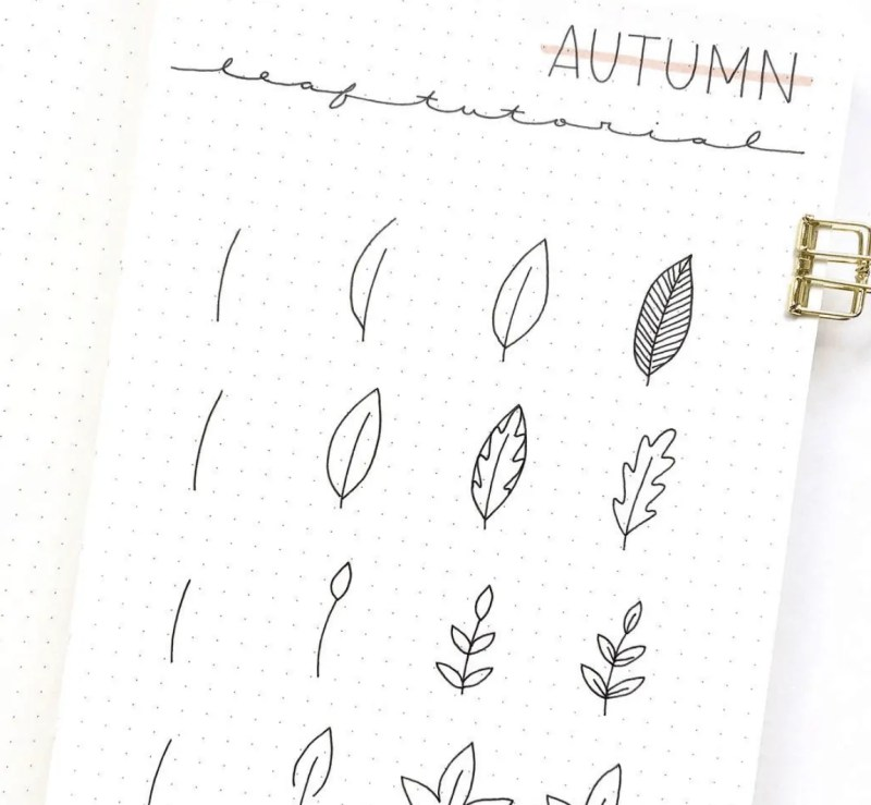 50+ Stunning September Bullet Journal Ideas you must see! 143